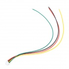 1.25-4P DIY 1.25mm Pitch 4 pines Individual Sugerencia Terminal Cable - multicolor (20 PCS)