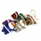 Christmas Santa Claus Decoration for Christmas Tree - Yellow + Red + Green + Blue + Silver + Purple