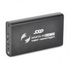 368 mSATA SSD to USB 3.0 HDD External Enclosure - Black