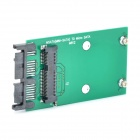 "Mini PCI-e Sata to Microsata / Msata to 1.8"" Microsata Adapting Card - Green + Black"