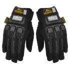 MADBIKE MAD-11 Cool Multifunctional Full-finger Warm Cycling Glove w/ Touch Screen Fingertip - Black