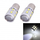 11W 1156 528LM White Light Car Steering / Backup Lamp w/ 12-SMD 5630 + 1-Cree XP-E (DC 12V / 2 PCS)