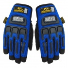 MADBIKE MAD-11 Cool Multifunctional Full-finger Warm Cycling Glove w/ Touch Screen Fingertip - Blue