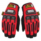 MADBIKE MAD-11 Cool Multifunctional Full-finger Warm Cycling Glove w/ Touch Screen Fingertip - Red