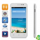 "S10 Android 4.2 Dual-core WCDMA Bar Phone w/ 4.5"" Screen, Wi-Fi, GPS and Dual-SIM - White"
