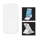 Protective 360 Degree Rotation TPU + Silicone Case for Samsung Galaxy S4 i9500 - White