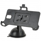 360 Degree Rotational Car Mount Holder w/ Suction Cup for Samsung Galaxy Note 3 / N9000 / N9002