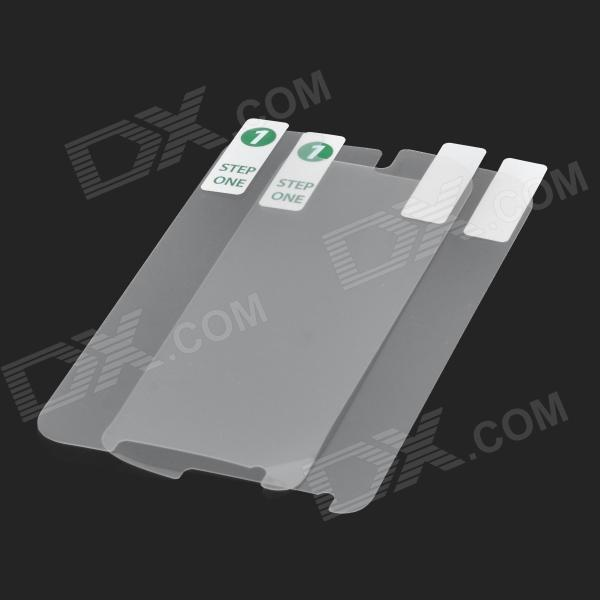 Protective Clear Screen Protector Film for Samsung Galaxy S4 Mini i9190 - Transparent (2 PCS)