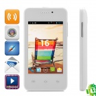 "MG2 Android 2.3.5 Dual-Core GSM Bar Phone w/ 3.5"" Screen, Wi-Fi, Bluetooth and Dual-SIM - White"