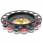 Entertainment Drinking Roulette Set for Party - Multicolored