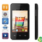 "MG2 Android 2.3.5 Dual-Core GSM Bar Phone w/ 3.5"" Screen, Wi-Fi, Bluetooth and Dual-SIM - Black"