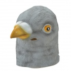 SYVIO Pigeon Mask - Gray + Yellow + White