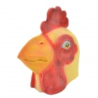 SYVIO Cock Mask - Red + Yellow