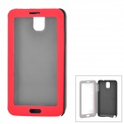 Stylish Protective PU Leather Case for Samsung Galaxy Note 3 - Red