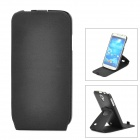 Protective 360 Degree Rotation TPU + Silicone Case for Samsung Galaxy S4 i9500 - Black