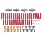 RC Aircraft Accessories Set Frame Arm / Motor / Propeller / Holder/ESC/Flight Controller/Cover Board