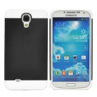 NX CASE Protective PC + TPU Back Case for Samsung S4 i9500 - Black + White