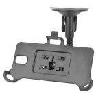 360 Degree Rotating Car Suction Cup Holder Stand + Bracket for Samsung Galaxy Note 3 + More - Black