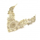 Fashionable Resplendent Zinc Alloy Women's Necklace - Bronze