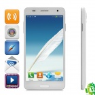 "GT-N9000 Android 4.2 GSM Dual-Core Bar Phone w/ 5.4"" Capacitive Screen, Wi-Fi and Dual-SIM - White"
