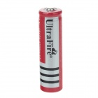 UltraFire 3.7V 4200mAh Rechargeable 18650 Li-ion Battery - Red + Silver+Black
