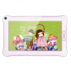 PORTWORLD K2928 7″ Android 4.2 Children Tablet PC w/ 512MB RAM, 8GB ROM, Course Montoring – Pink