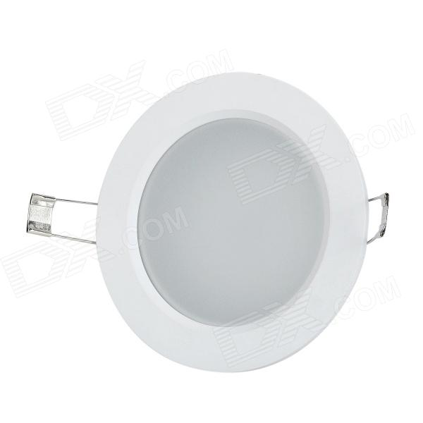 Lexing LX-TD-6 3 5.5w 300lm 6500k White 30 SMD2835 Recessed Ceiling Lamp - White + Silver (85~265V) lexing lx lzd 5 e14 3w 200lm 7000k 6 smd 5730 led white lamp bulb 85 265v