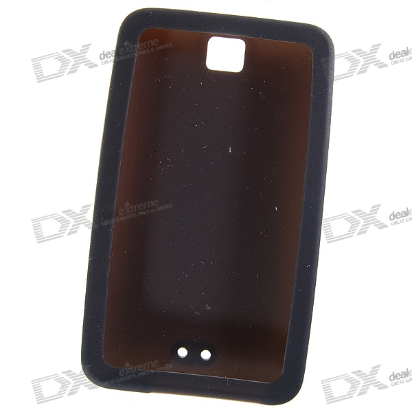 Protective Silicone Case for Ipod Touch 3 (Black)