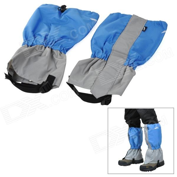 Ryder Q3003 Outdoor Mountaineering Anti-Snake Oxford Leg Sleeves - Blue + Grey (Pair)