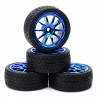 1/10 On-road Racing Car Model Replacement Tire (4 PCS)