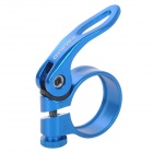 GINEYEA Aluminum Alloy Bike Seatpost Clamp - Blue