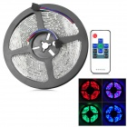 3528-RGB-RF Wasserdicht 24W 1000lm 300-SMD 3528 LED RGB Car Light Strip w / Controller (12V)