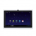 "iRulu AK008 7"" Android 4.0.3 Tablet PC w/ Allwinner A13 1.2GHz, 512MB RAM, 4GB ROM - White + Black"