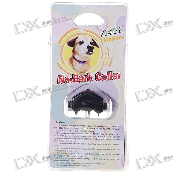 Sound Activated Viberating Bark-Stop Collar for Dogs (Bark Control)