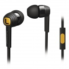 Philips SHE7055 Black Citiscape Indies Headphones Earphones with MIC for Iphone Samsung HTC LG