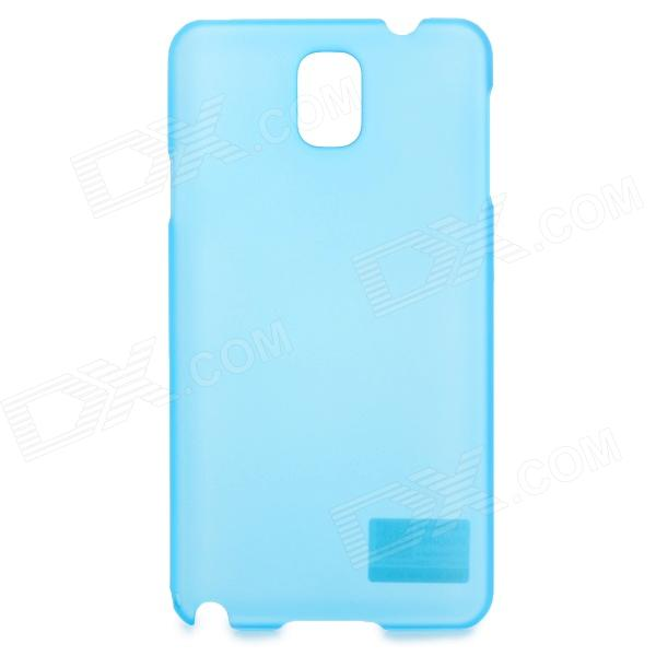 PUDINI WB-Note 3 Stylish Jade Series Protective PC Back Case for Samsung Galaxy Note 3 - Blue love note