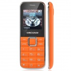 "ULCOOL Q3 Fashion GSM Bar Phone w/ 1.4"" LCD Screen, Dual-SIM, Bluetooth and FM - Orange"