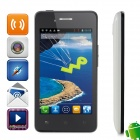 "Malata i60 MTK6577 Dual-Core Android 4.1.1 WCDMA Bar Phone w/ 4.0"", Wi-Fi,FM - Black + White"