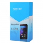 "TIMMY E120L MTK6517 Dual-Core Android 4.1 GSM Bar Puhelin w / 4,65"", 5.0 megapikselin kamera, Dual-SIM - valkoinen"