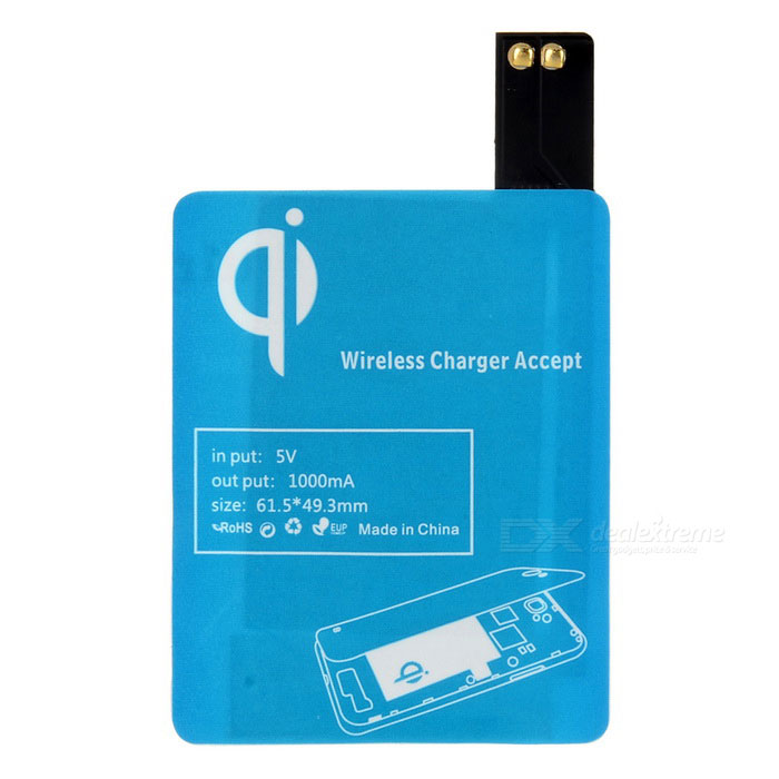ZY-405 Wireless Charging Receiver for Samsung Galaxy S4 i9500 - Black
