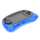 "2.5"" Screen 168 Built-in Games Game Console Machine - Black + Blue (3 x AAA)"