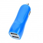 RS27 3.1A Car Cigarette Powered Charging Adapter Charger for Cell Phone / GPS / Tablet PC - Blue