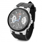 TVG KM478 Men's Stylish LED Sports Water Resistant Quartz Wrist Watch - Black (1 x 626)