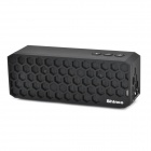 Shinco HC-913 Fashionable Honeycomb Style Bluetooth Brass Speaker for Laptop - Black