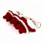 Christmas Santa Claus Jr Decoration for Christmas Tree - Red (3 PCS)
