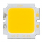 CG-01-36-26 DIY 8w 700lm 3300k Warm White COB Square Aluminous Module - Yellow + Silver (25~27V)