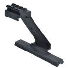 Steel Picatinny Rail Base Top Mount for Pistol - Black