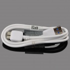 Micro USB 9-Pin Male to USB 3.0 Male Data Sync / Charging Cable for Samsung Galaxy Note 3 - White