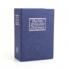 T007 Mini English Dictionary Piggy Bank - Dark Blue + White