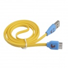 LED Smile Face Pattern Micro USB 9-Pin Male to USB 3.0 Male Cable for Samsung Galaxy Note 3 N9000
